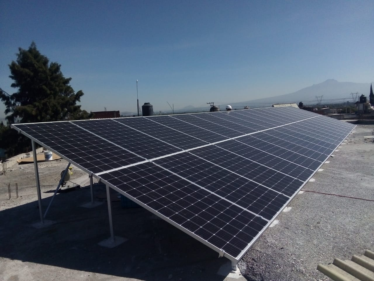 Paneles solares en xalapa